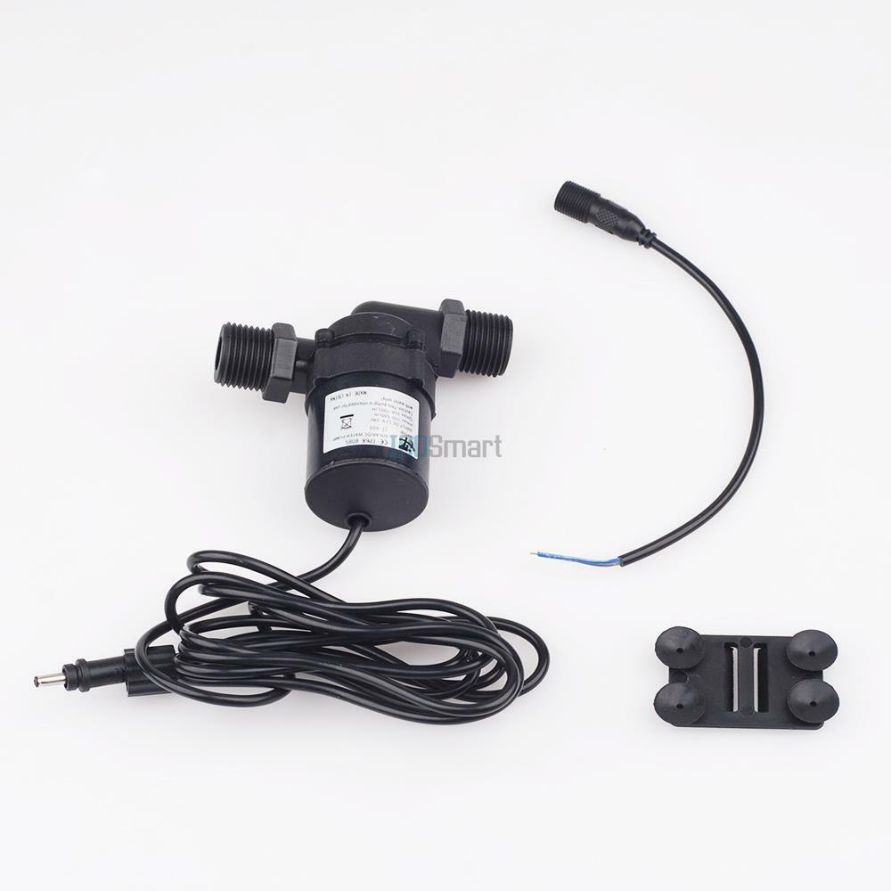 12 24v solar hot water pump circulation brushless motor for Waterproof dc motor 12v