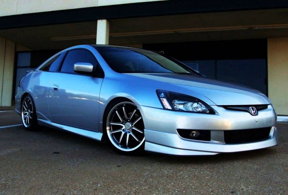 New honda accord coupe 2003 2004 2005 oe style front lip for 03 honda accord coupe