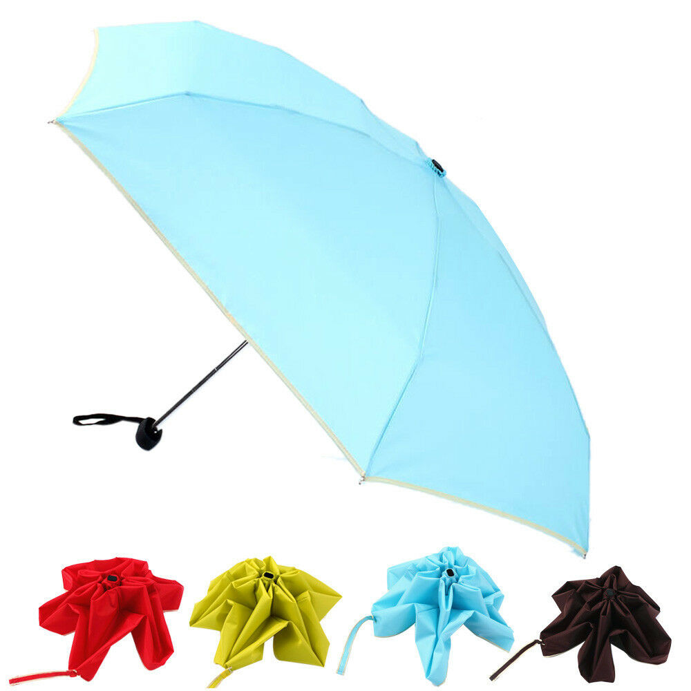 Fashion folding compact umbrella windproof flowers anti uv - Parasol anti uv 50 ...
