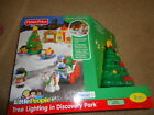 Fisher Price Little People Tree Lighting in Discovery Park Set  - NEW IN BOX