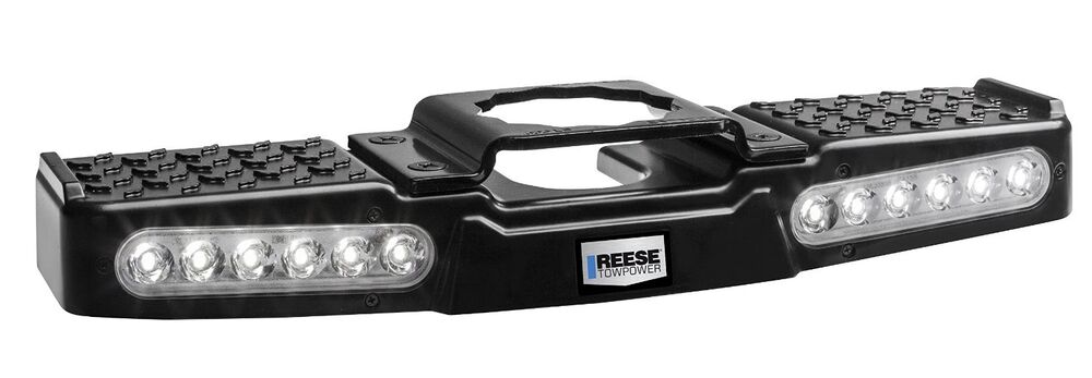 Reese Towpower 7065300 Lighted LED Trailer Hitch Step ...