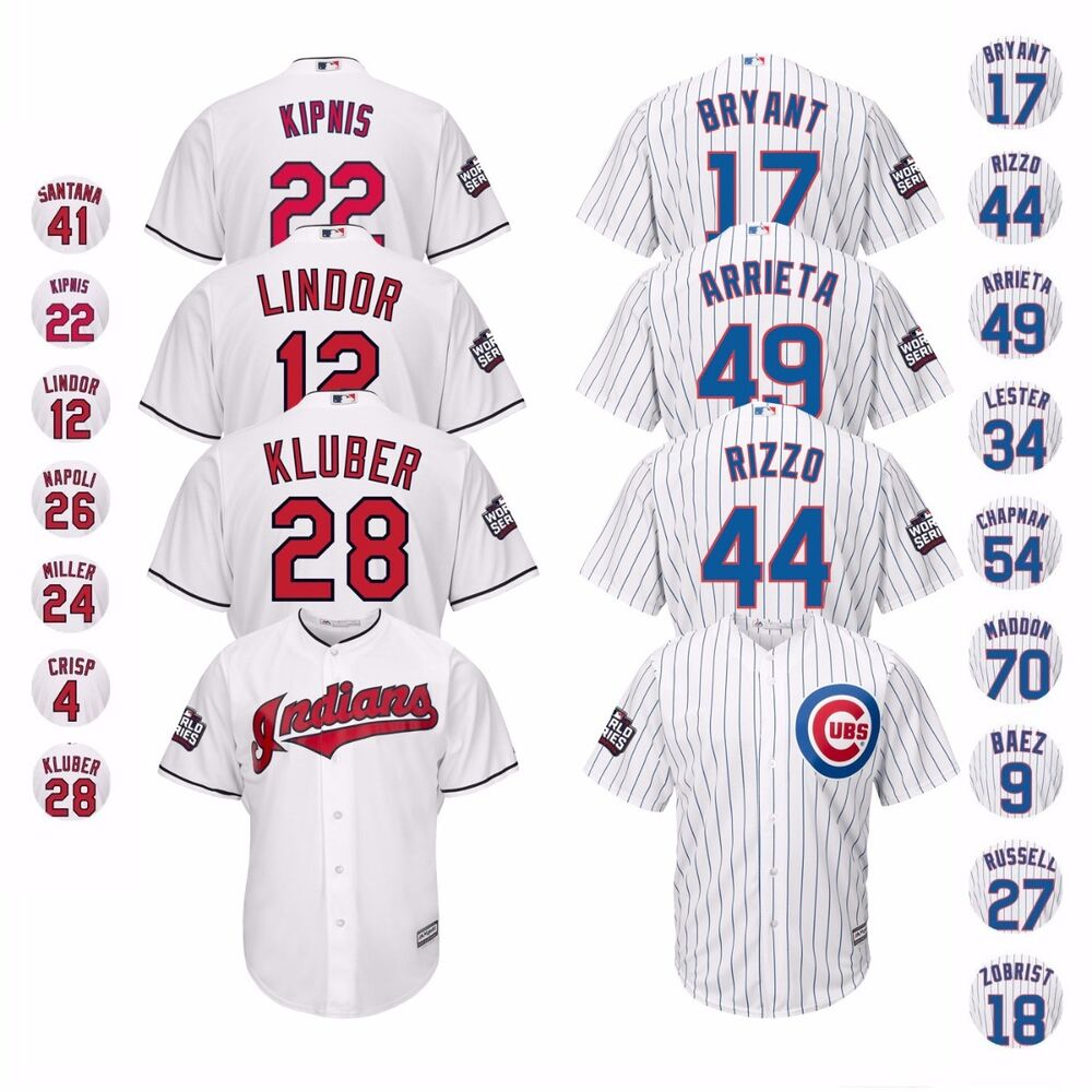 indians cubs cleveland jersey chicago series