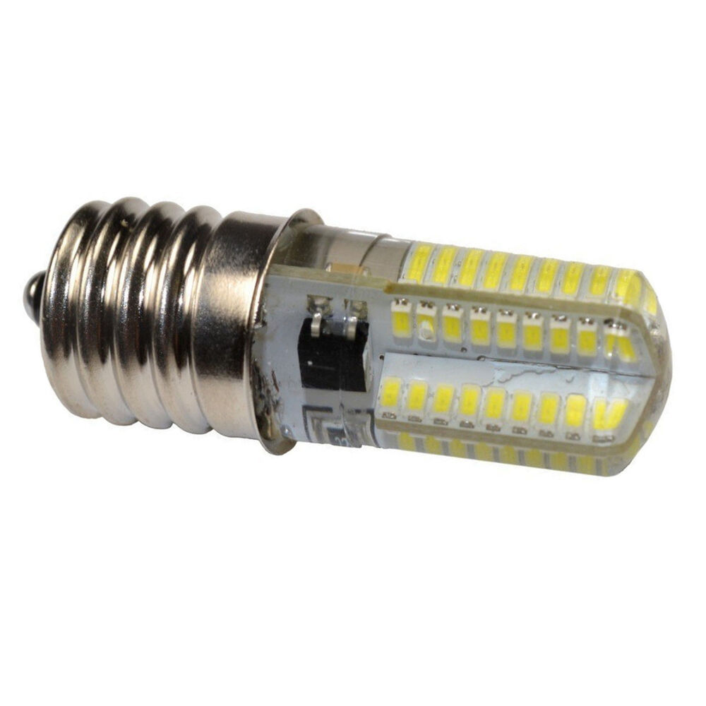 Hqrp 110v E17 Silicone Crystal Dimmable Led Bulb For