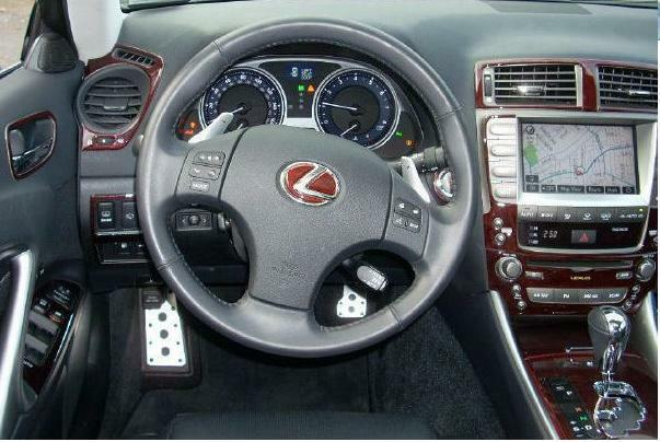 lexus is is250 250 is350 350 interior wood dash trim kit. Black Bedroom Furniture Sets. Home Design Ideas