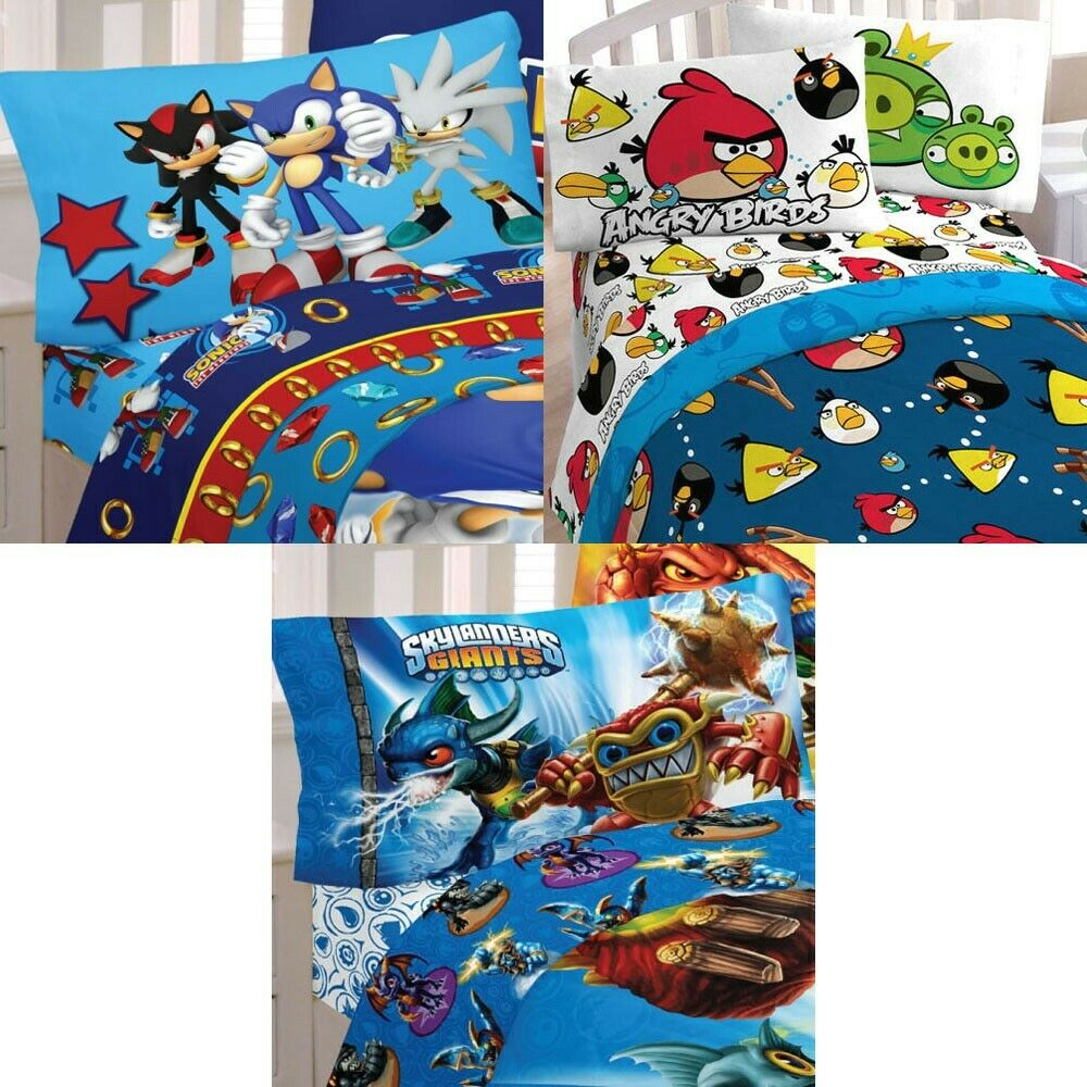 Angry Birds Twin Bedding