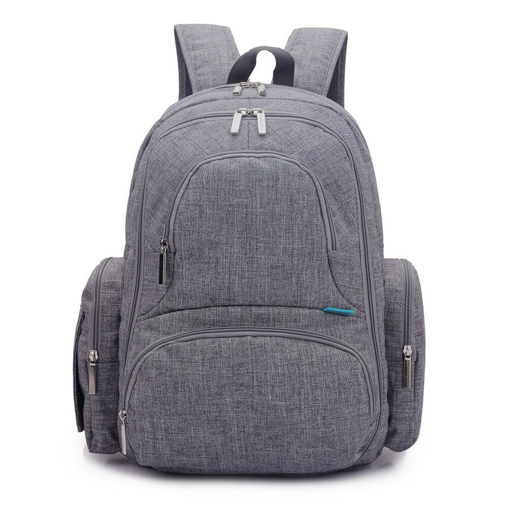 new outdoor waterproof baby changing diaper nappy mummy bag backpack handbag ebay. Black Bedroom Furniture Sets. Home Design Ideas