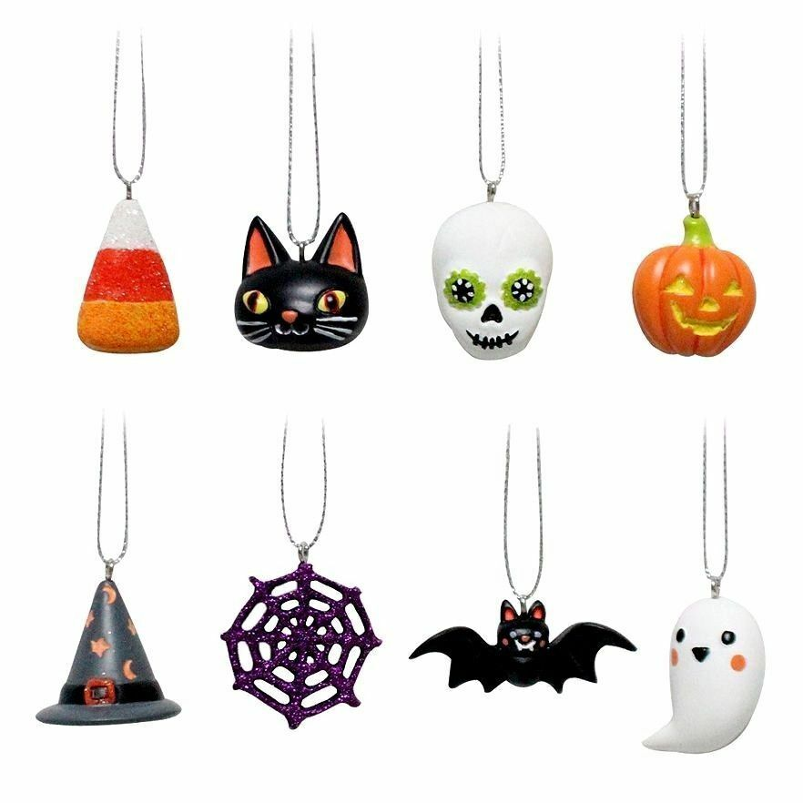 mini halloween ornaments