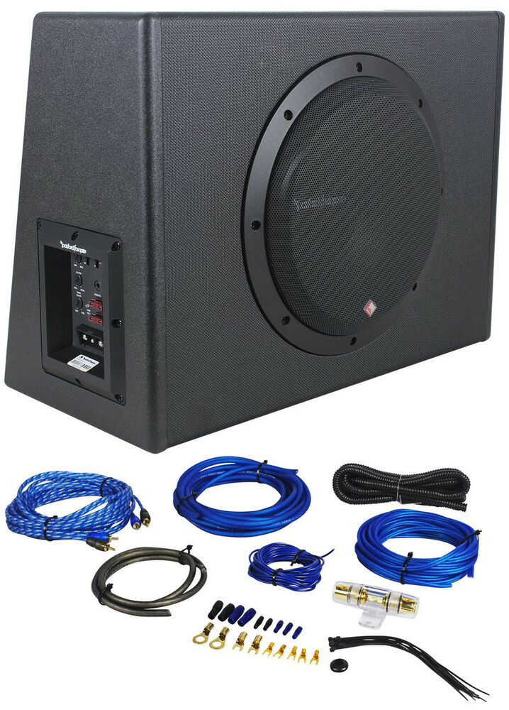 rockford fosgate p300 10 10 300w sealed powered subwoofer. Black Bedroom Furniture Sets. Home Design Ideas