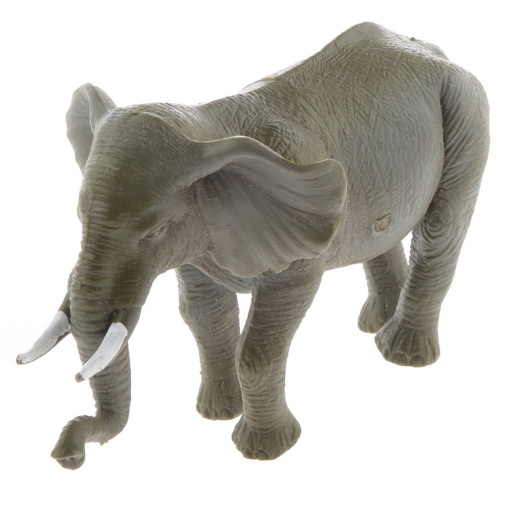 Toys For Elephant : Plastic elephant animal model action figure toy
