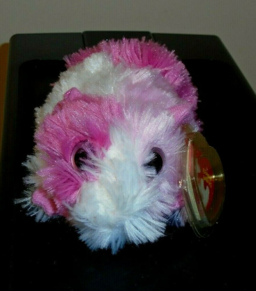 Details about Ty Beanie Baby ~ PINKY the Guinea Pig (Big Eyes Version)(5.5  Inch) MWMT e9b771a3c0d