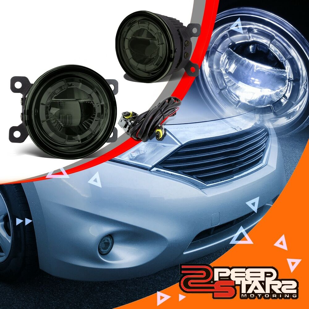 3 5 Quot Smoke Lens Round Replacement Led Projector Bumper Fog