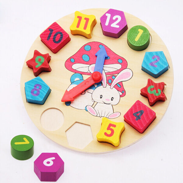 Baby Kids Toddler 12 Colors Number Puzzle Educational Toy ...