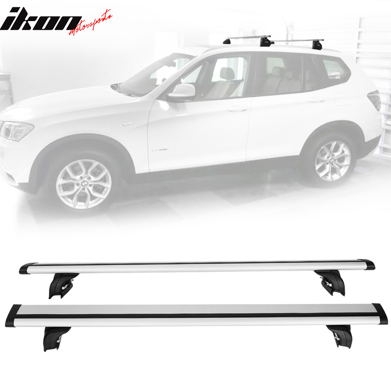 fits 08 audi q5 06 audi q7 16 x1 roof rack cross bar. Black Bedroom Furniture Sets. Home Design Ideas