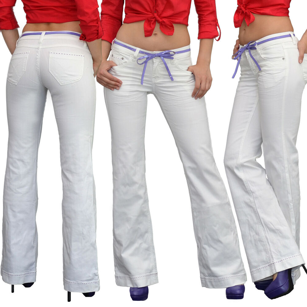 damen skinny jeans damen r hrenjeans hose skinny mit rissen jeanshose j283 ebay. Black Bedroom Furniture Sets. Home Design Ideas