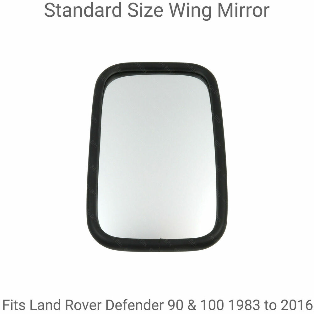 Standard Size Wing Mirror To Fit Land Rover Defender 90