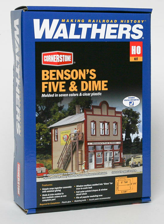 Walthers cornerstone ho benson 39 s five and dime building Five and dime stores history