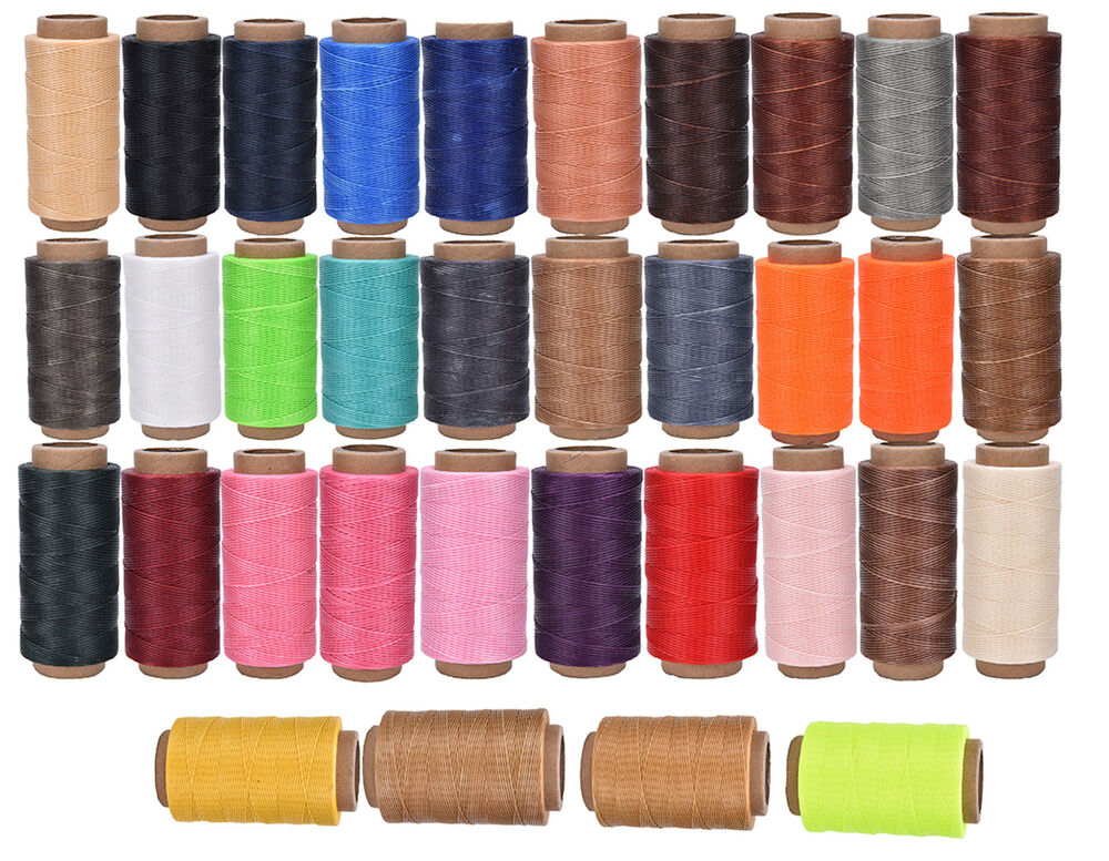 260m 1mm leather sewing wax thread for chisel awl upholstery shoes luggage tools ebay. Black Bedroom Furniture Sets. Home Design Ideas