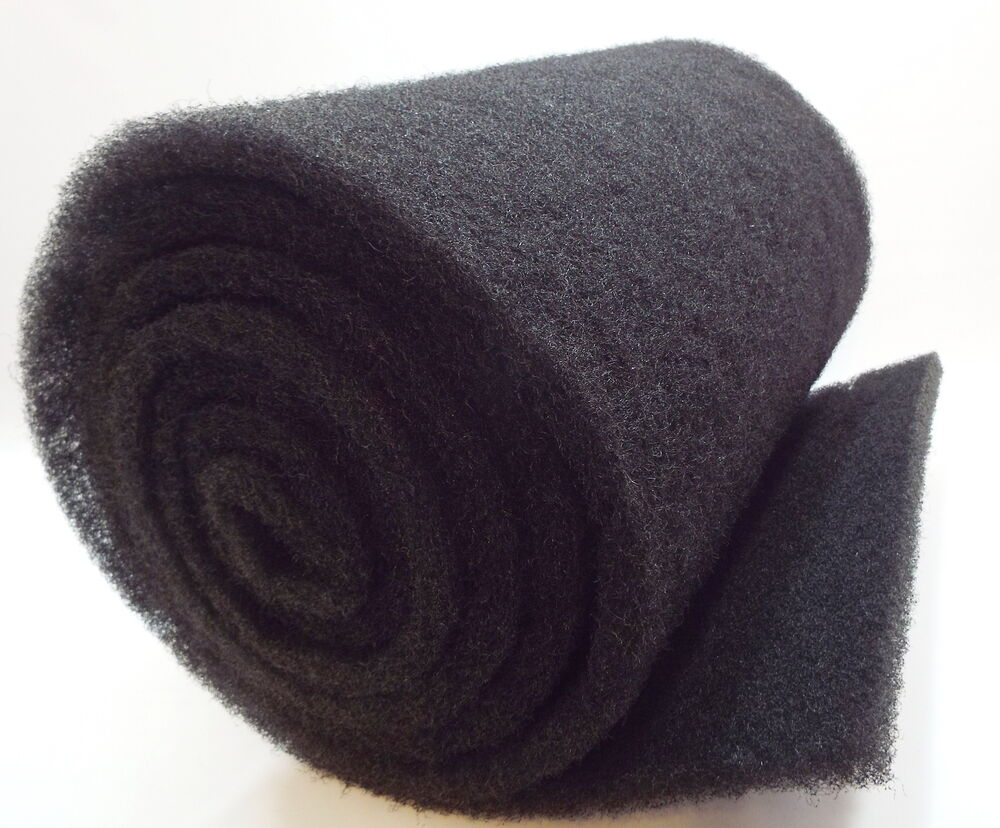 2 39 x 28 coarse black universal replacement filter mat 1 for Pond filter mat