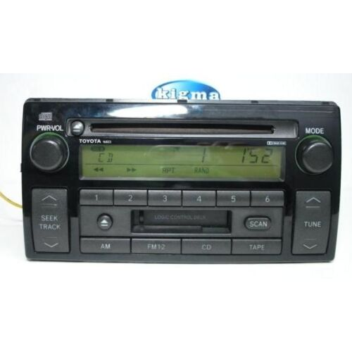 toyota-camry-02-03-04-cd-cassette-player-16823-by-fujitsu-ten-le-lxe-tested