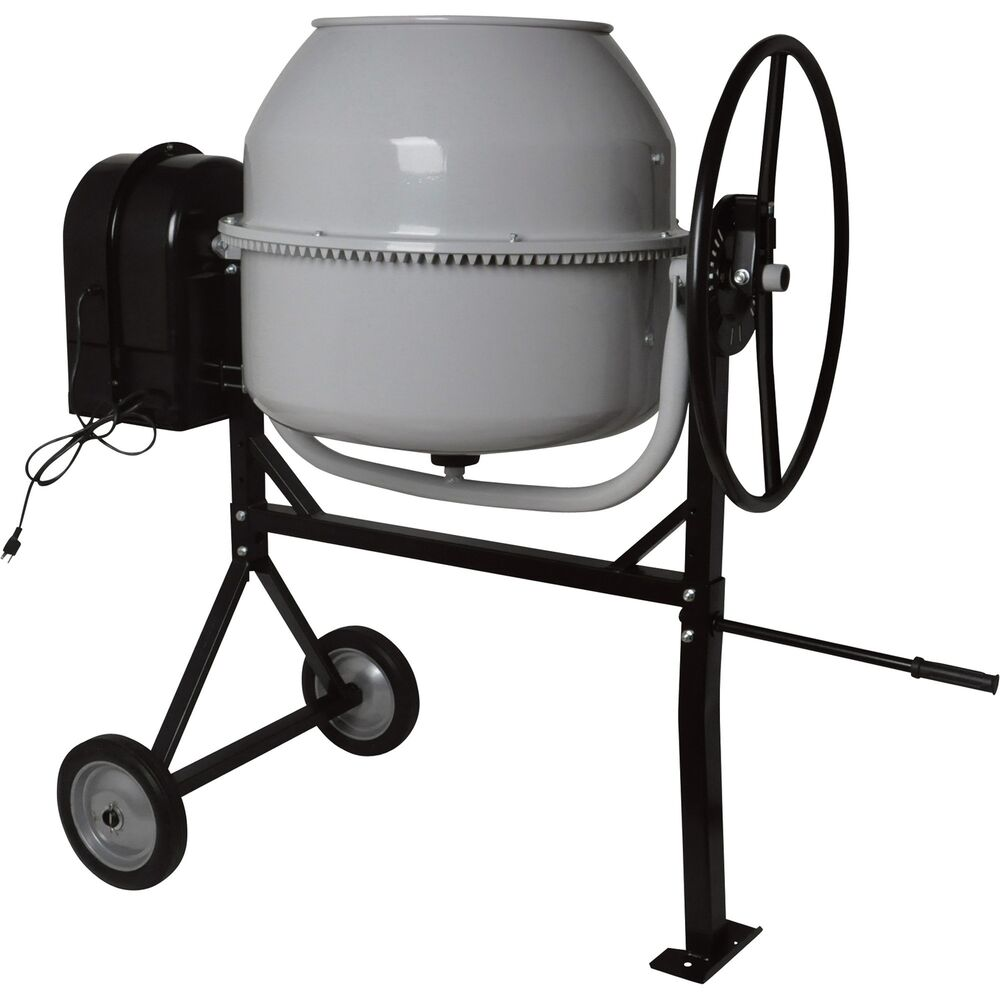 Klutch 6 Cubic Ft Portable Cement Mixer 1 Hp Ebay
