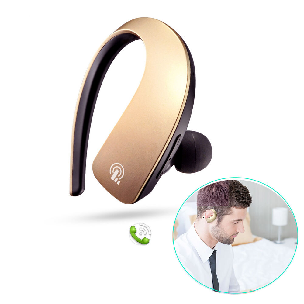 bluetooth headset stereo car headphone earbuds for iphone 7 6 6s 5c samsung lg ebay. Black Bedroom Furniture Sets. Home Design Ideas