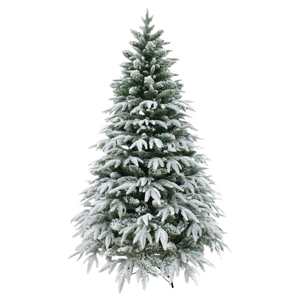 5ft 150cm designer artificial christmas tree snow covered for Small designer christmas trees