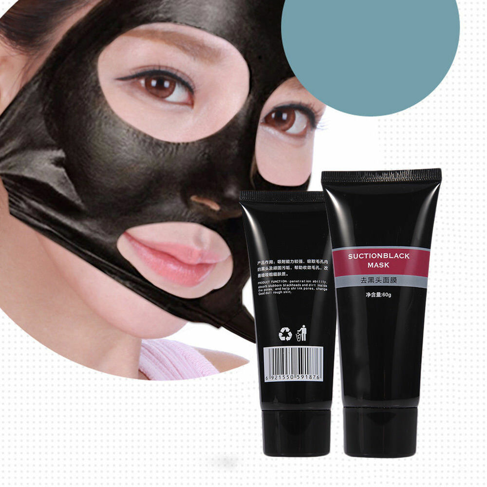 Bamboo Charcoal Deep Cleaning Remove Blackhead Acne Mask