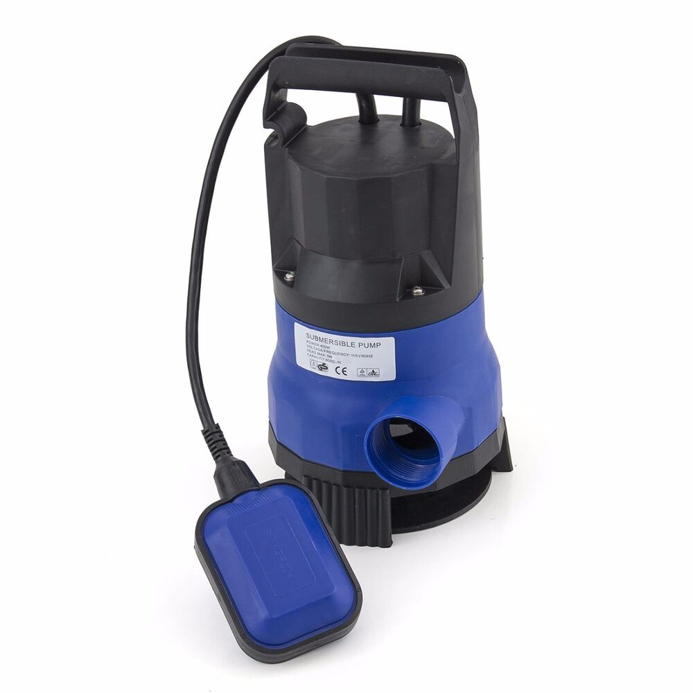 750w 1hp 3432gph submersible dirty clean water pump for Water pump to drain pond