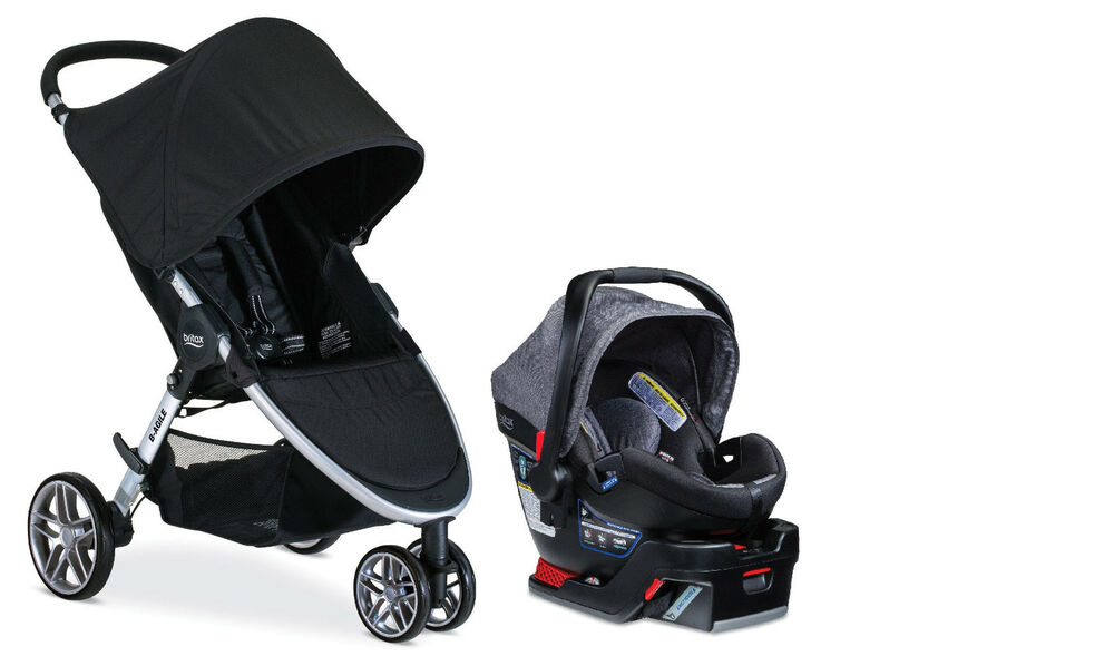 Britax B Agile And B Safe Travel System With Car Seat