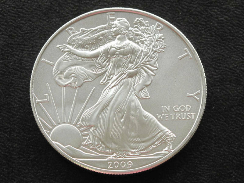 2009 Liberty Walking American Silver Eagle Dollar Coin Ebay