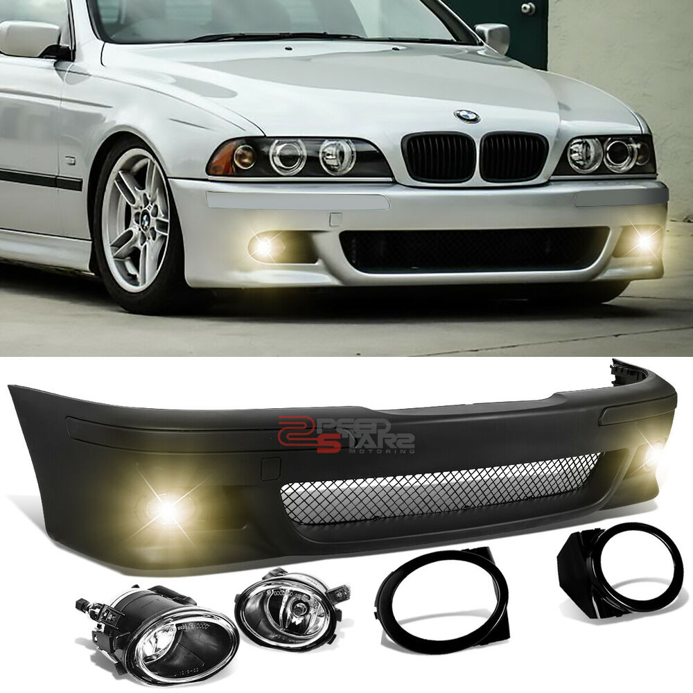 FOR 96-03 BMW E39 5-SERIES M5 M-SPORT STYLE FRONT BUMPER