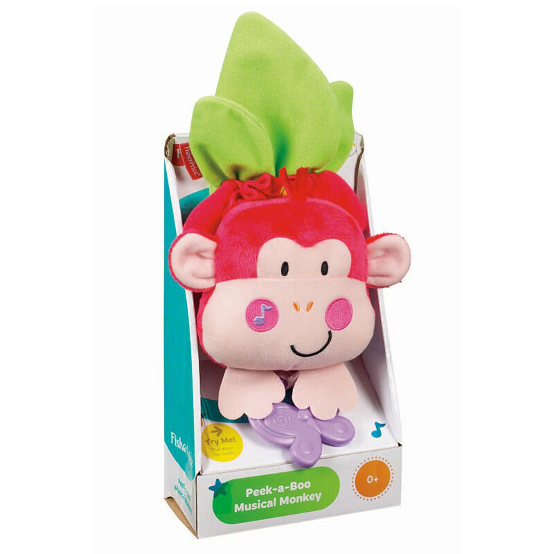 Fisher Price Crib Toys : Fisher price peek a boo musical monkey crib cot pull down