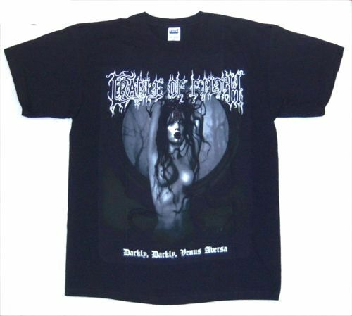 cradle of filth darkly venus aversa lilith black t shirt. Black Bedroom Furniture Sets. Home Design Ideas