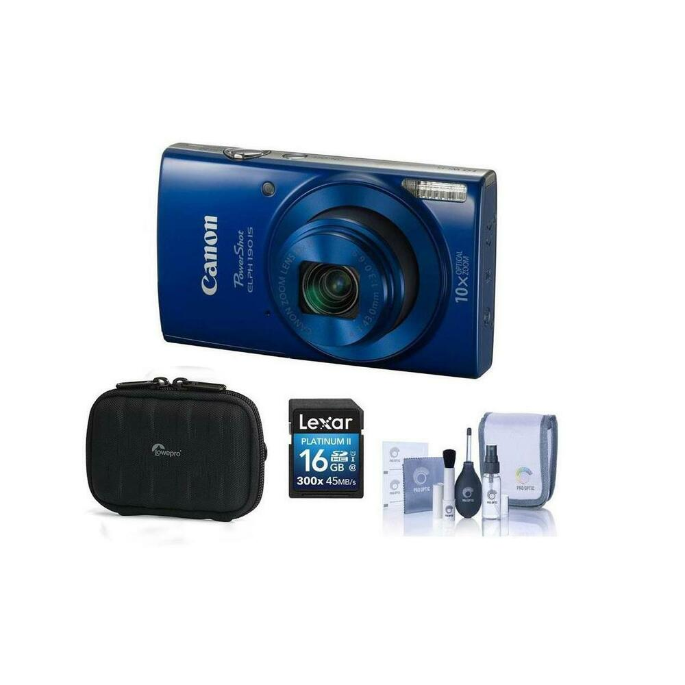 c4eee44ee1 Details about Canon PowerShot ELPH 190 Digital Camera and Free Accessories