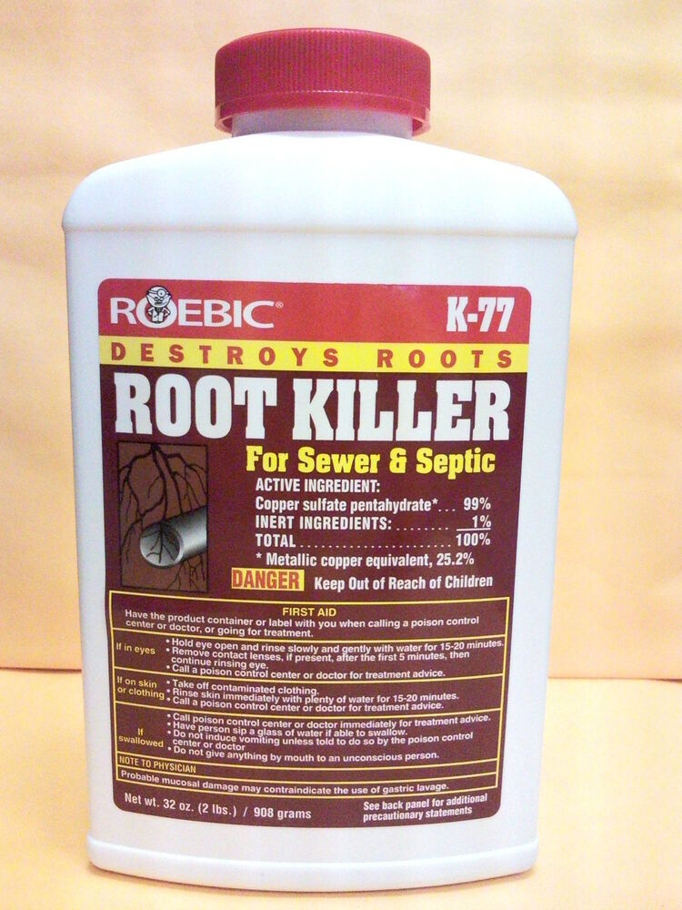 Roebic Root Killer For Sewer Amp Septic 32oz K 77 New Ebay