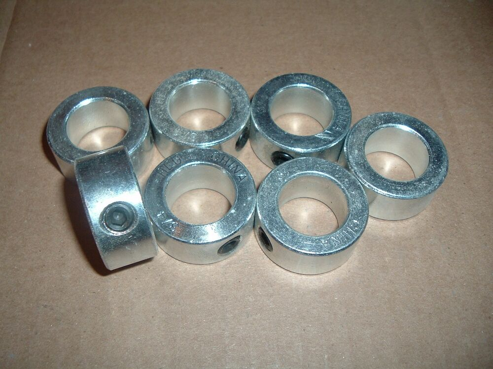Lot of quot shaft set collar with screw ebay