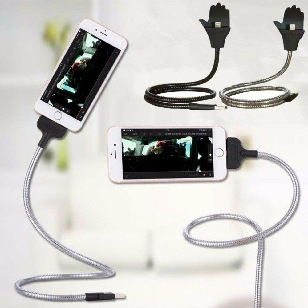 Flexible Iphone Stand And Charger