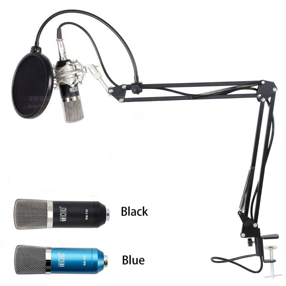 Professional 3 5mm Podcast Condenser Microphone Pc