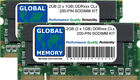 2GB (2 x 1GB) DDR 266/333/400MHz 200-PIN SODIMM KIT MEMORIA RAM PER LAPTOP