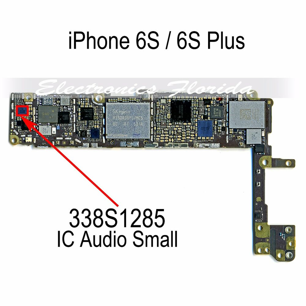 IC 338S1285 Audio Small IC Chip Replacement For IPhone 6S