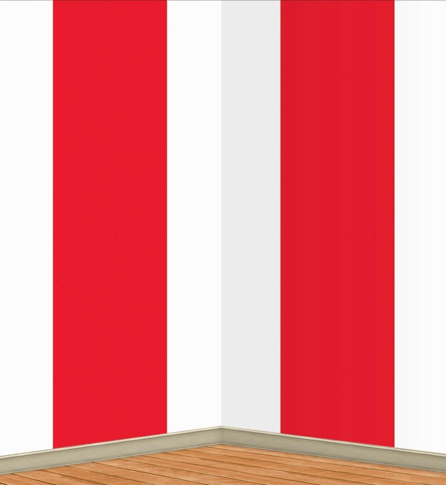30ft Red Stripes BIG TOP Carnival Circus Tent Mural Scene Setter Photo Backdrop  sc 1 st  eBay & Circus Tent | eBay