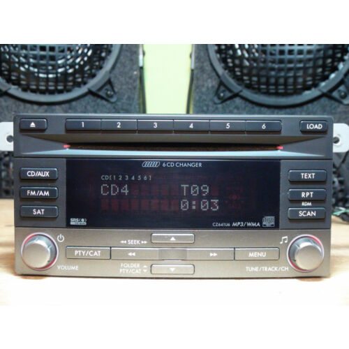 subary-impreza-20082014-6disc-cd-mp3-wma-sat-player-cz641u6-see-test-video