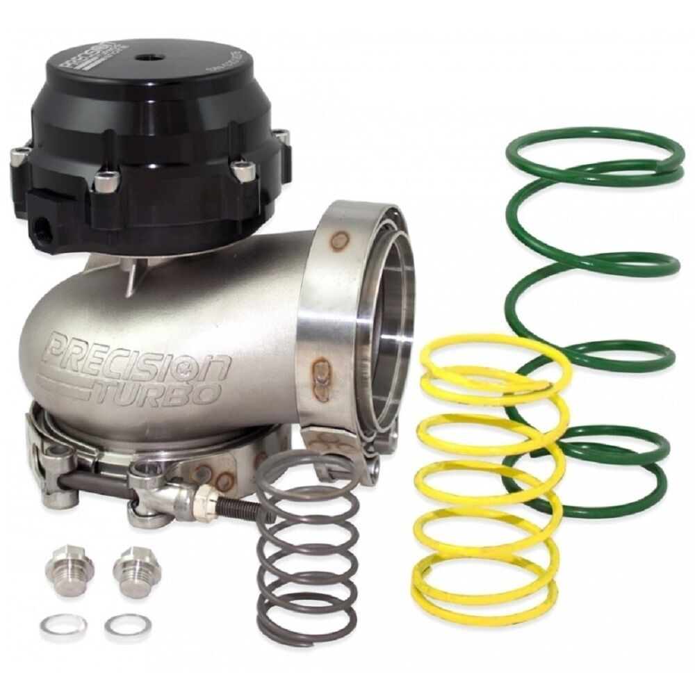 Precision 5558 Turbo Chargers Parts: PRECISION TURBO CO2 EXTERNAL 66MM V-BAND VBAND WASTEGATE