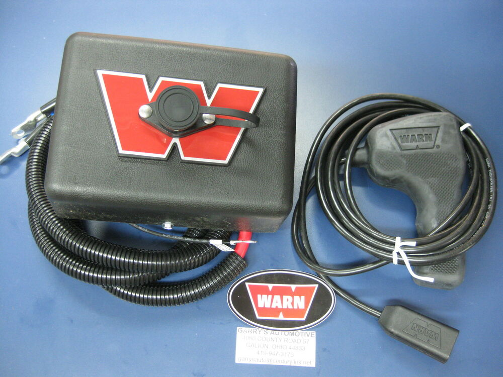 Warn 38844 8274 Winch Electric Control Pack Mount Upgrade