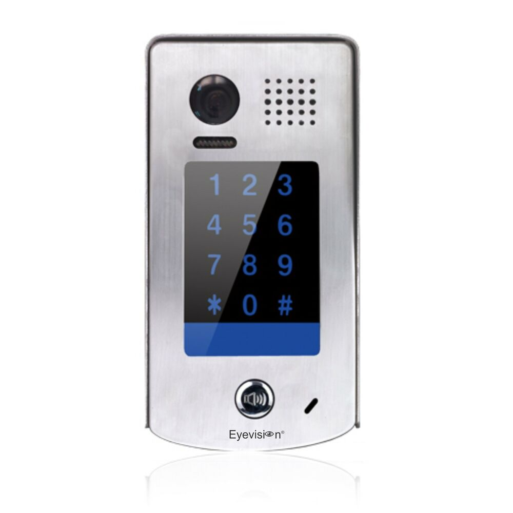 Add On Door Station With Keypad For Eyevision 2 Wires Video Intercom