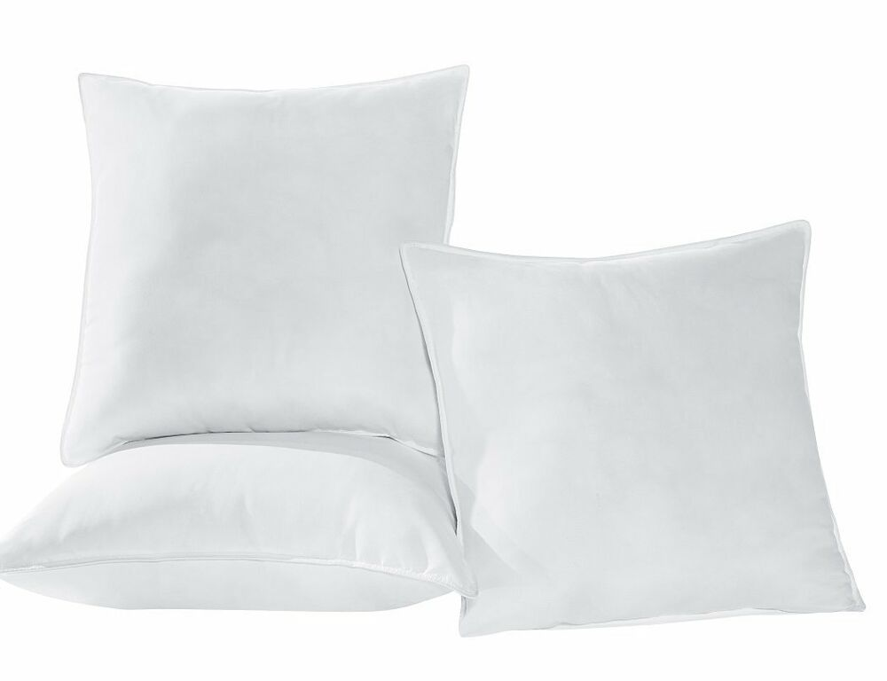 Chezmoi collection extra fill down alternative pillow for 30 x 30 euro pillow insert
