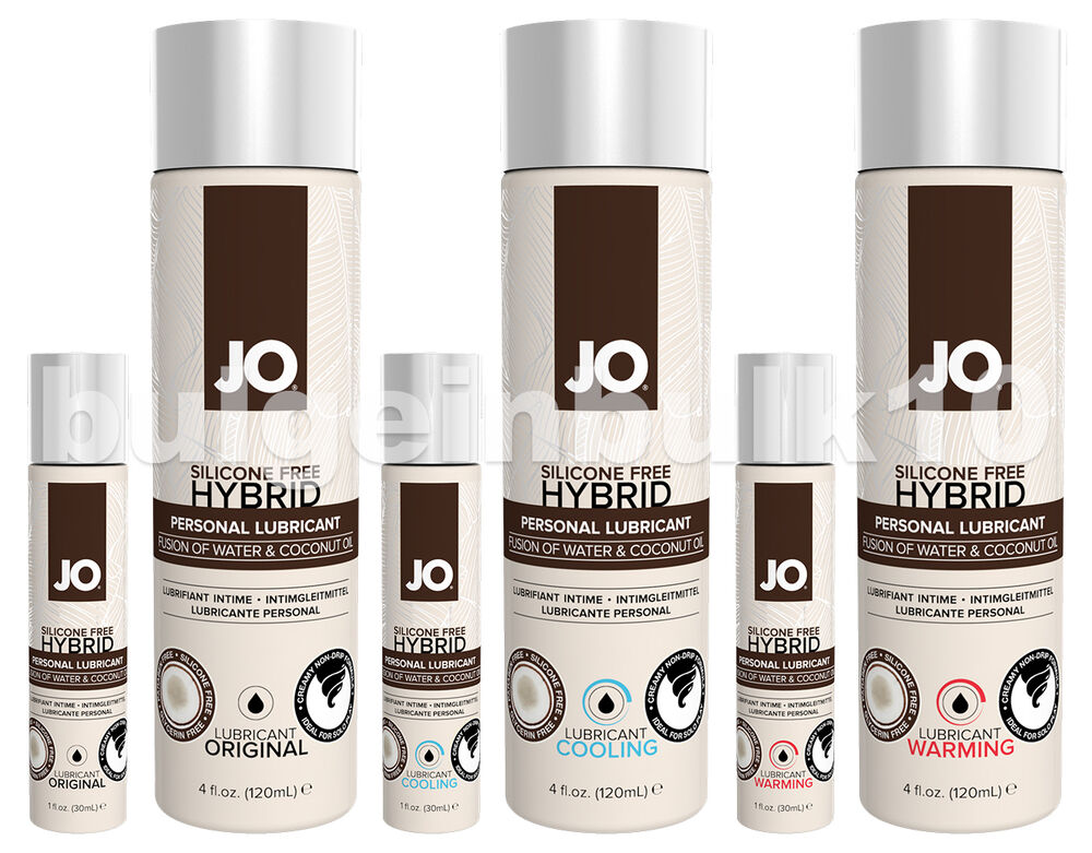 System Jo Silicone Free Hybrid Water Coconut Oil Lubricant -6661