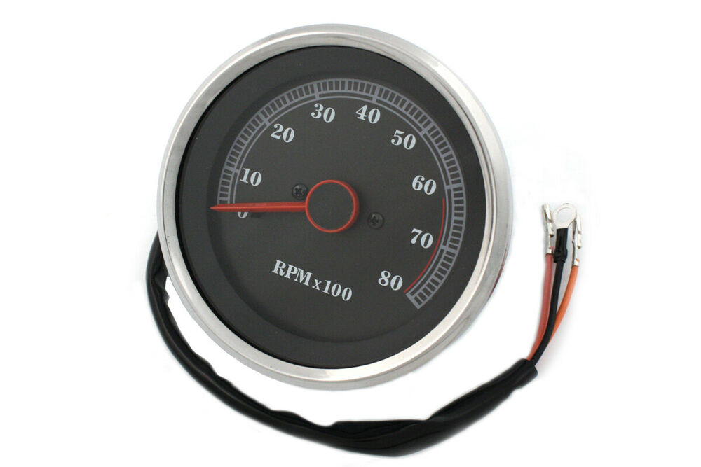 electric tachometer for harley davidson motorcycles by v