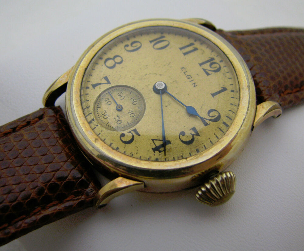 Vintage Wadsworth Swiss Made Automatic Mens Wrist Watch