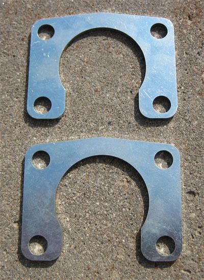9 Quot Inch Ford Big Ford Old Style 1 2 Quot Axle Retainer Plates